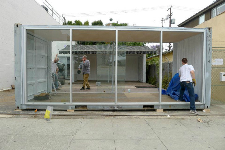 Ilan Dei Studio Opens A Shipping Container Pop Up Store In