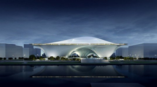 National Art Museum of China, Jean Nouvel, NAMOC, Nouvel wins NAMOC, China contemporary architecture, Birds Nest,