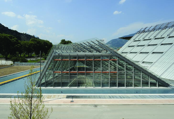 Muse museum a sustainable river front redevelopment by for Renzo piano trento
