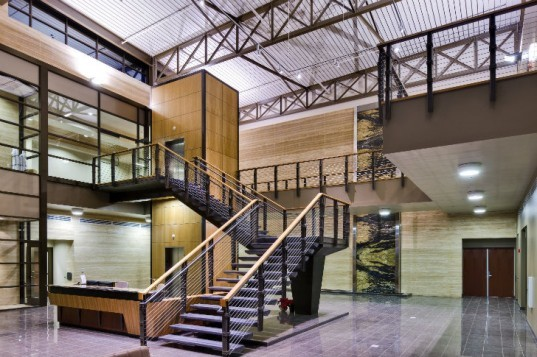 Mack Energy Corporation, Van H. Gilbert Architects, daylighting, eco headquarters, artesia, new mexico