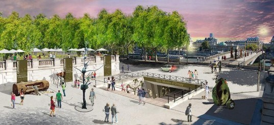 Bertrand Delanoë, Paris, Seine riverside, Paris pedestrianization plan, riverside world heritage sites, Paris city