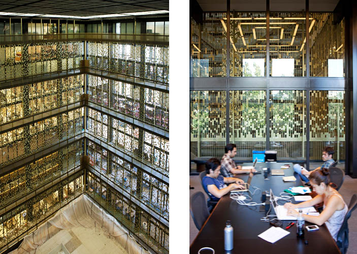 NYU Bobst library screen-digitally inspired-Joel Sanders