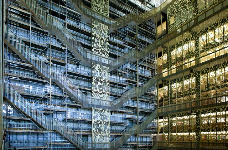 Nyu Decks Out Bobst Library With Beautiful Suicide