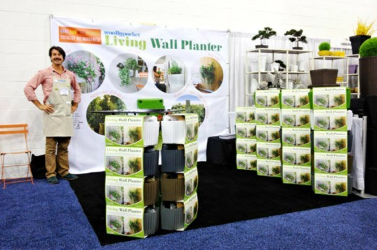New Woolly Planter, Woolly Pockets, living wall planter, vertical garden, living wall, planter