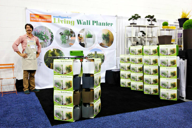 Woolly Pocket Debuts New Recycled Plastic Wall Planter At Independent  Garden Center Show