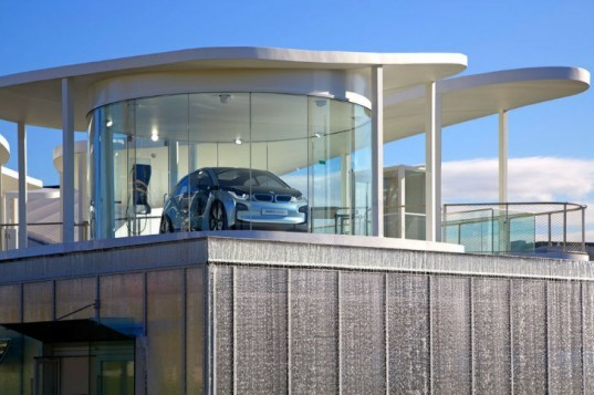 Olympic BMW Pavilion, BMW Group Pavilion, fuel efficient vehicles, olympic pavilion, london olympics, Serie Architects