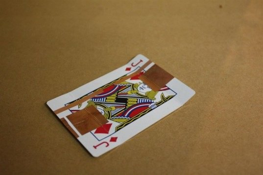 DIY: How To Turn a Playing Card Into a Solar-Powered Battery