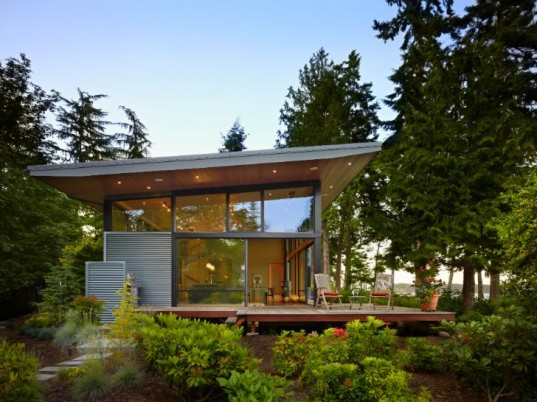 Port Ludlow Residence, FINNE Architects, modern home, eco home, puget sound, washington
