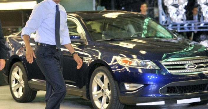 President Obama Visits Ford Motor Company S Chicago Plant