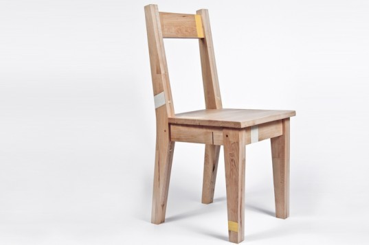 Project Won, Chair, London, recycled wood,