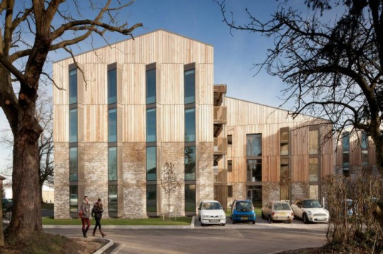 Royal Veterinary College, HawkinsBrown, hawkshead campus, student housing, eco housing, green housing