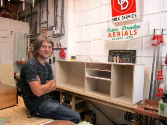 rupert blanchard, reclaimed furniture, green furniture, salvaged materials, London designer, salvaged drawers, eco cabinets, sustainable storage