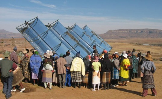 solar thermal electricity, solar hybrid, African Clinic, African solar, MIT solar thermal electric, Magic Box,