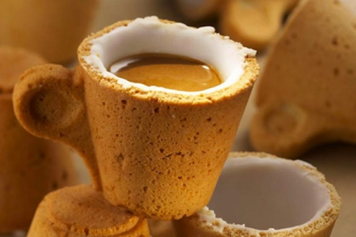 Enrique Luis Sardi, Lavazza, coffee, espresso, coffee cup, cookie cup, design,