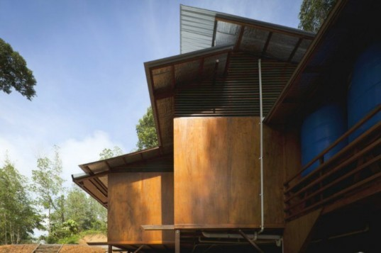 Shelter at Rainforest, Marra Yeh Architects, net zero home, zero energy home, sustainable forestry, malaysia