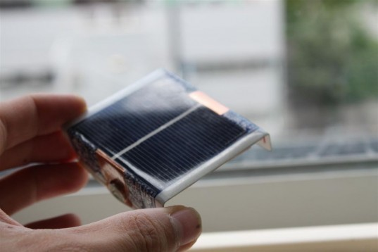 playing card solar charger, solar powered battery charger, instructables, rechargeable batteries, inhabitat DIY, DIY, playing card, instructions