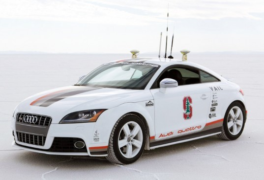 Audi, Audi TT, self-driving car, Stanford University, Volkswagen, Toyota Prius,google Prius, Volvo, car safety