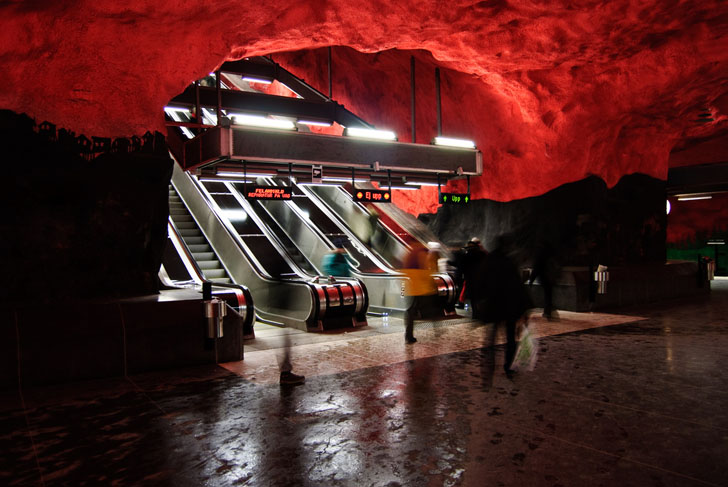 Stockholm S Subway System Is The World S Largest