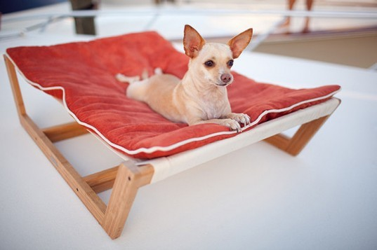 The Bambu Pet Hammock II, Pet Lounge Studios, bamboo pet beds, eco friendly pet beds, green pet beds, green dog beds, eco friendly dog beds, sustianble dog beds