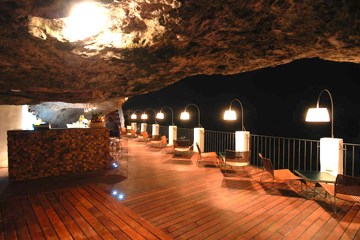 The Summer Cave Is A Tranquil Italian Restaurant Tucked