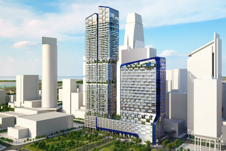 Unstudio Unveils V On Shenton Singapore Skyscraper With A