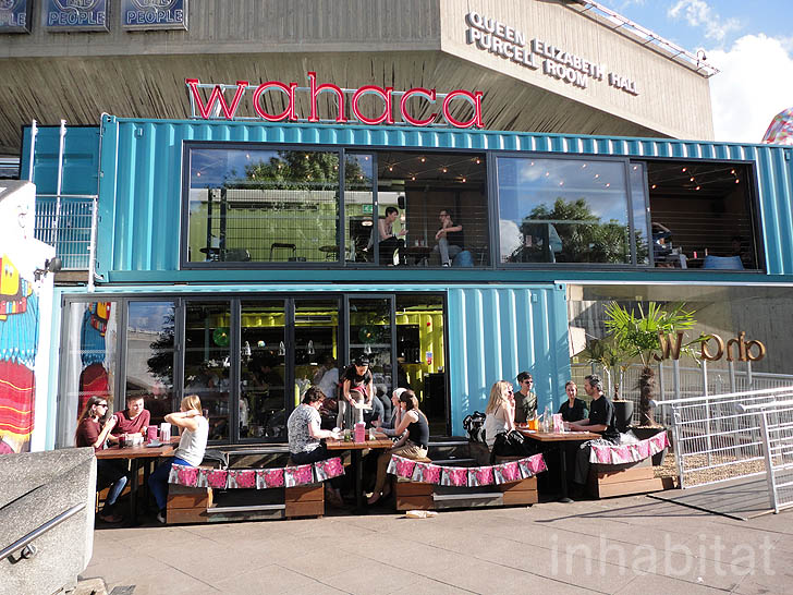 London S Bold And Bright Wahaca Restaurant Is Built From 8