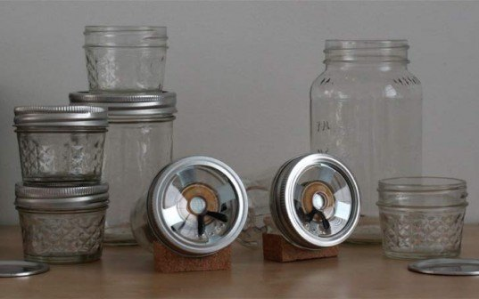 audioJar, sarah pease, mason jars, speaker, open source, DIY