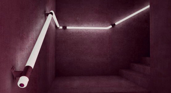 Blind Led Handrails Make Lowly Staircases The Most
