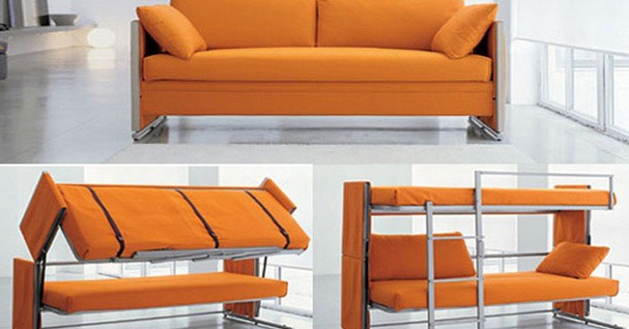 Bonbon Convertible Sofa Bunk Bed 171 Inhabitat Green