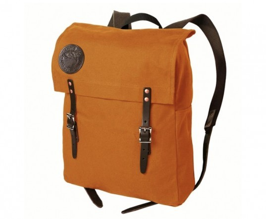 Duluth Scoutmaster Pack, canoe pack, made in usa, usa-made backpack, Top 6 Green Backpacks, Back to School, green backpacks, green bags, sustainable design, green design, sustainable style, sustainable school backpacks, eco bags, sustainable satchels, green bookbags, college student bags