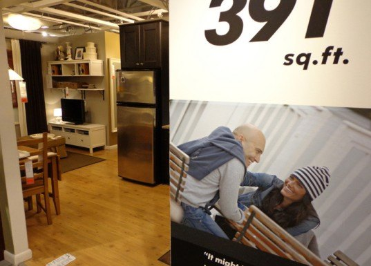 Photos See Inside Ikea Brooklyn S Tiny 391 Sq Ft Model