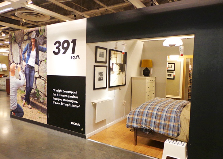 Photos See Inside Ikea Brooklyn S Tiny Sq Ft Model