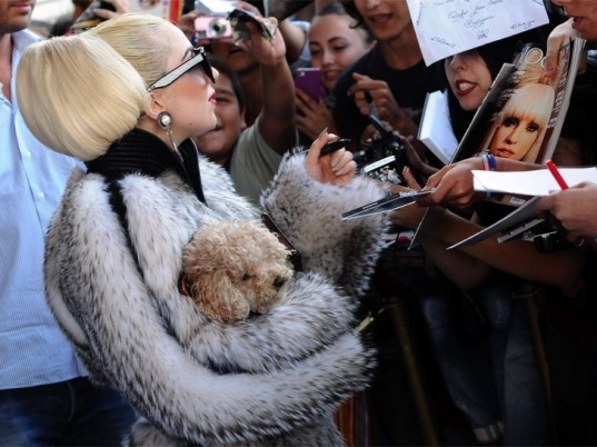 Ecouterre, lady gaga, fur, Peta, People for the Ethical Treatment of Animals, fur scandal, Kim Kardashian, mother monster,