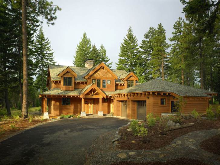 Lindal Homes Reinventing the AFrame as a Modern Green Home – Lindal Log Home Plans