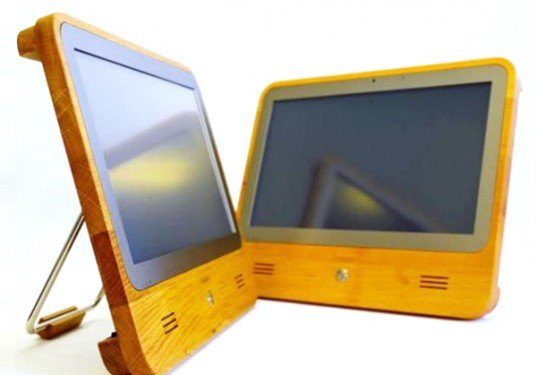 iameco, computer, wood frame, recyclable, efficient, pc, micropro