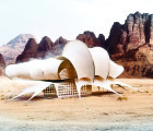 MONOHEDRON: Andrej Cverha's Futuristic Prefab Canvas Shelter is Highly Customizable