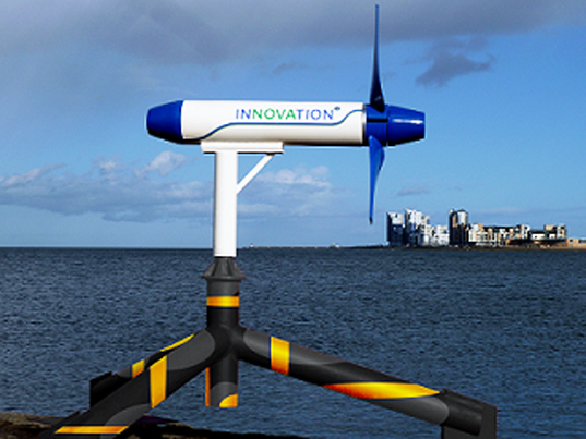 tidal turbine, Scotland, renewable energy, clean energy, wave power, community-owned