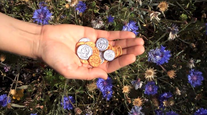 Seed Money: Leafcutter Designu0027s Plantable Paper Coins Flourish Into Flowers!  | Inhabitat   Green Design, Innovation, Architecture, Green Building