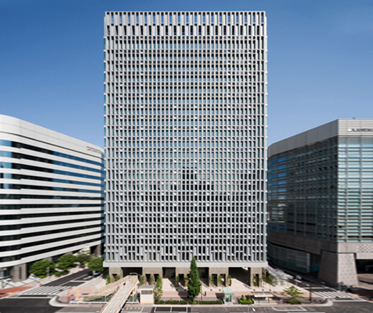 shimizu corporation, world's least co2 emitting building, tokoy, shimizu hq, shimizu head office, sustainable architecture, green architecture, green building, sustainable design, green design, japanese architecture