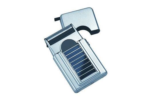 solar shaver, sol shaver, solar razor, sustainable razor, solar powered