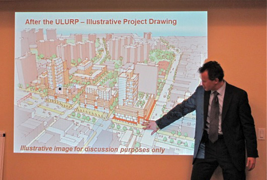 green design, eco design, sustainable design, SPURA, City Planning Commission, Department of Housing Preservation and Development, Community Board 3, Lower East Side redevelopment, Big Box stores, Essex Market, Broome Street Park