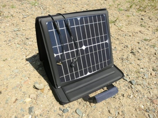 solar charger, portable power station, SunVolt, Kickstarter, Gomadic, Don Cayelli