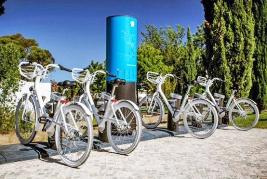 bike sharing, transportation, Vilamoura, Portugal, ANDRE, bicycles, design, urban planning