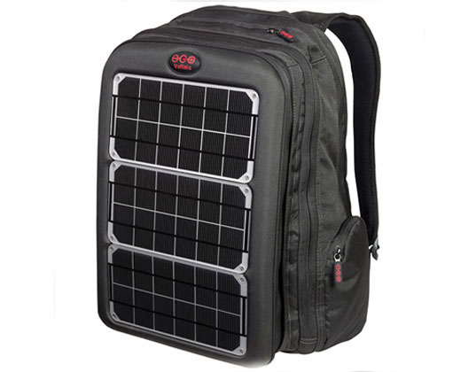 Voltaic, solar backpack, solar bag, portable solar cell, voltaic backpack