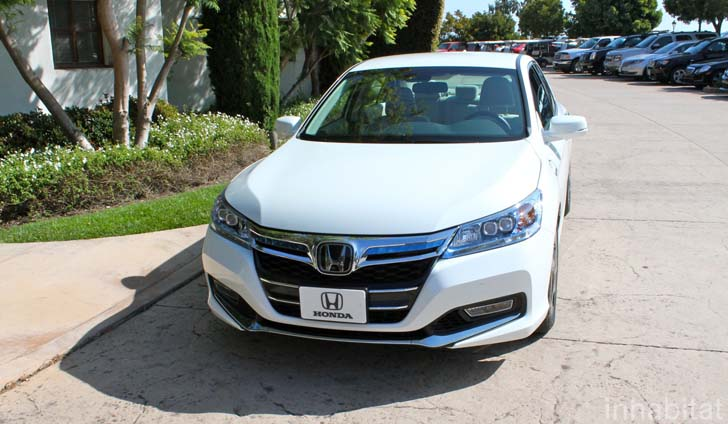 Test Drive 2014 Honda Accord Plug In Hybrid Is An Electric Car For