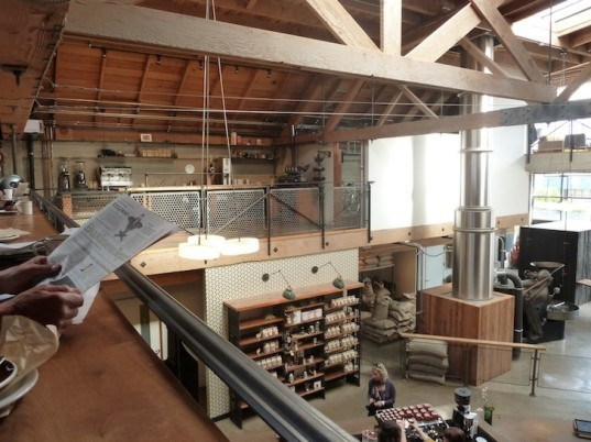 Sightglass Coffee, Architecture and the City, Boor Bridges Architecture, green design, sustainable materials, coffee roaster, daylighting,
