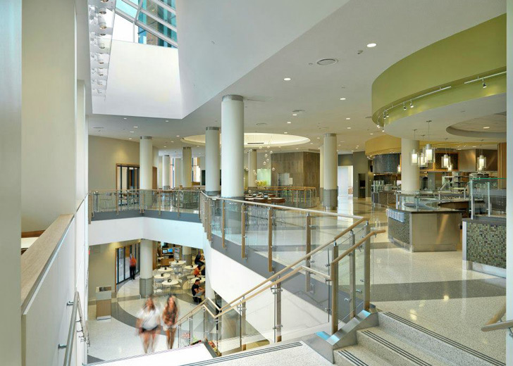 The New Marciano Center for Student Services is a Sustainable