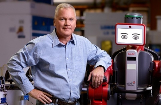 rethink robotics, baxter, robots, robotics, humanoid, android, us labor, manufacturing, rodney brooks