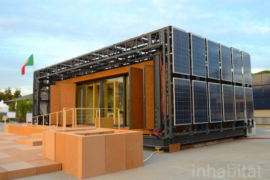 Portugal 39 s modular casas em movimento house rotates to follow the sun at the solar decathlon - Rotating homes follow sun ...