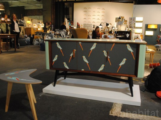 london design festival, design junction, the tramshed, eco designs, furniture design, sideboard, formica, modern prints